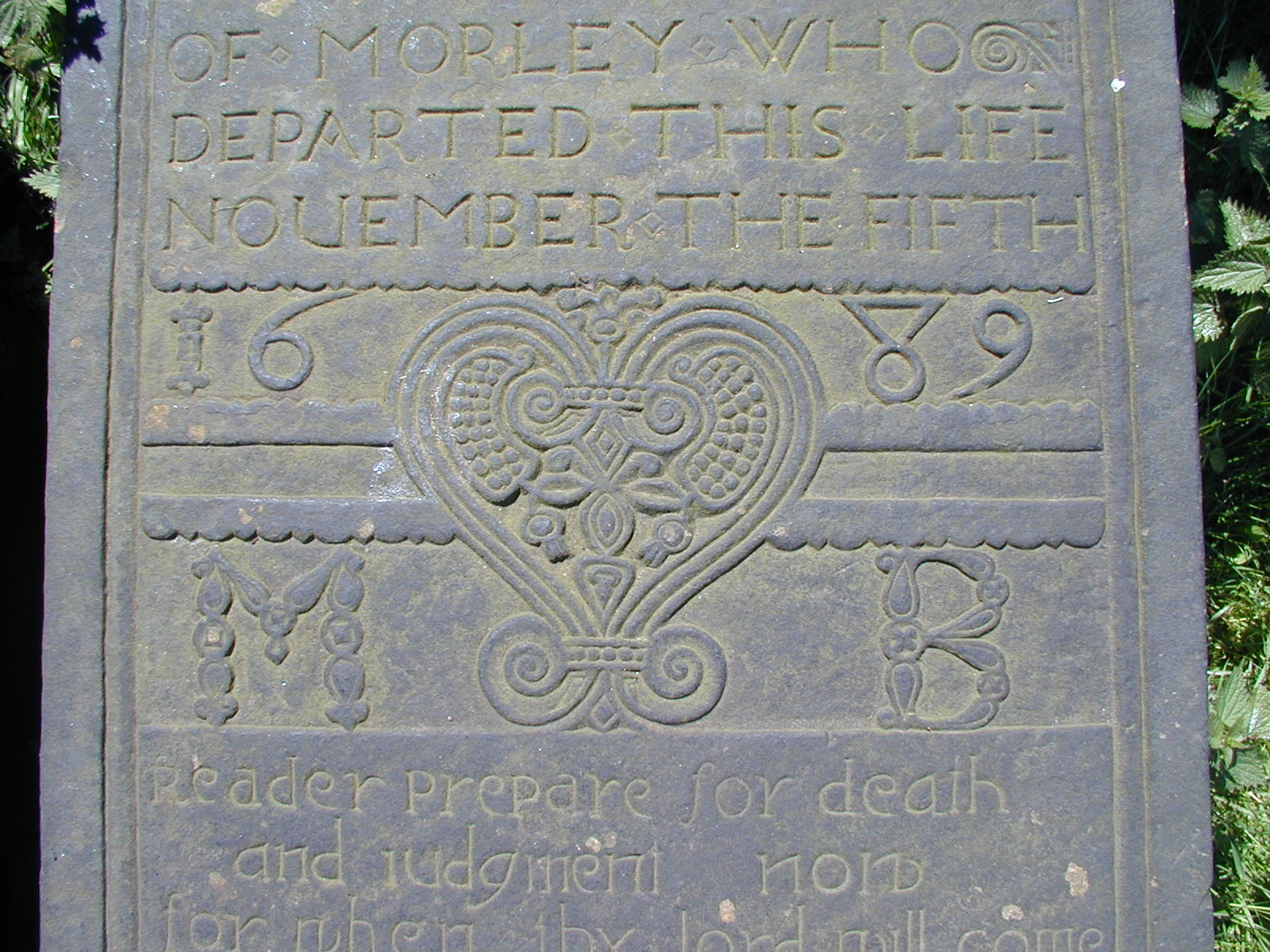Detail of the heart motif
